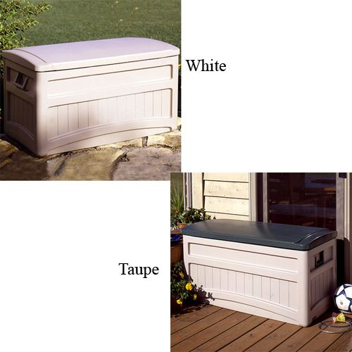 Suncast Storage Bench. of Suncast outdoor storage