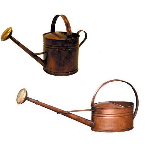Copper Plated Watering Can 1.3 Gallon