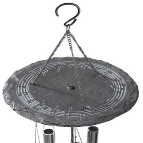 Slate Windchime Dark Gray Large