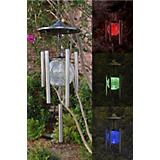 Color Changing Solar Wind Chime