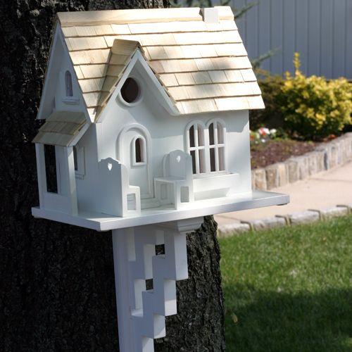 Home Bazaar Cozy Cottage Birdhouse w/Brackets