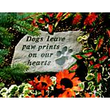 Stepping Stone- Dogs leave paw prints