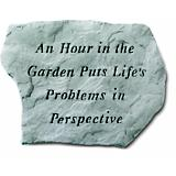 Stepping Stone- An hour in the garden