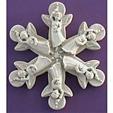 Angel Snowflake Plaque