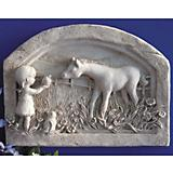 New Found Friends Horse Plaque