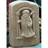Believe Santa Plaque Statue