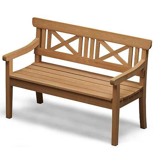 Drachmann Bench 82 In Teak