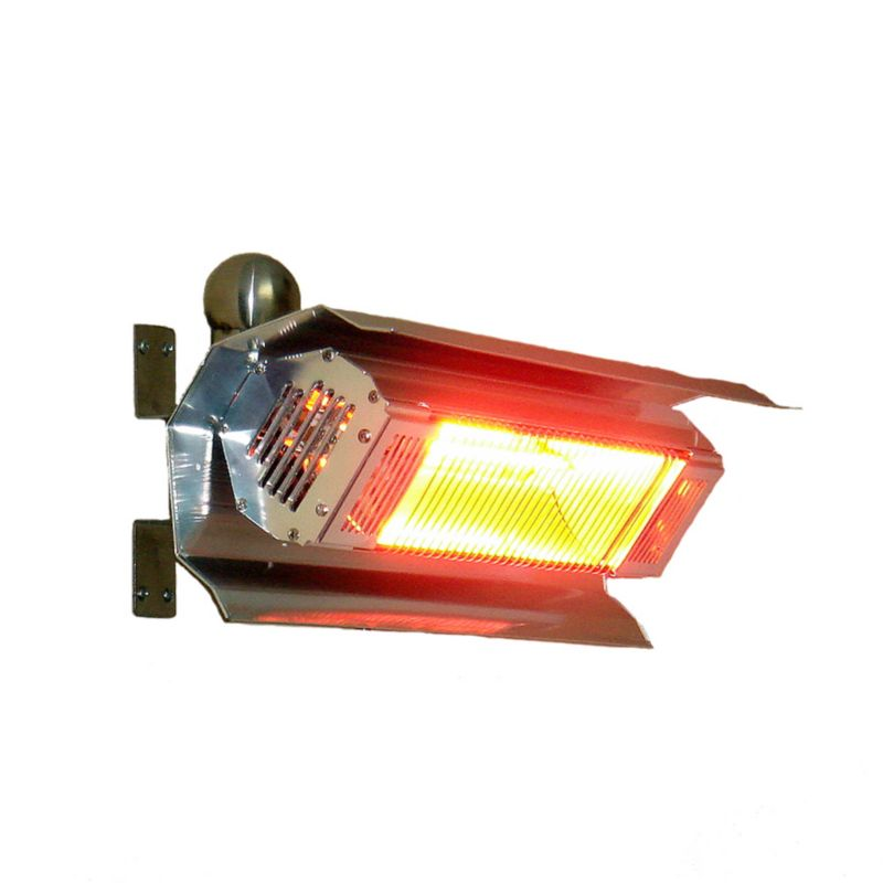 1500W Stainless Steel Wall Infrared Patio Heater