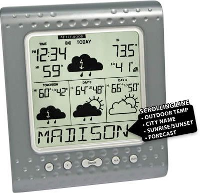 La Crosse WD-3104U Internet Wireless Forecaster
