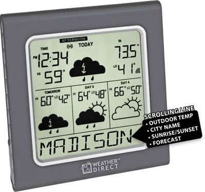 La Crosse WD-3105U Internet Wireless Forecaster