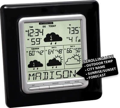 La Crosse WD-3103U Internet Wireless Forecaster