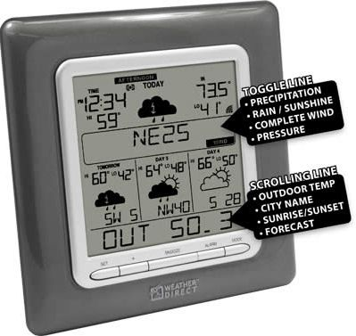 La Crosse WD-3307 Internet Wireless Forecaster