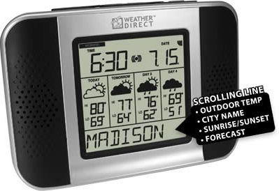 La Crosse WA-1240U Talking Wireless Forecaster