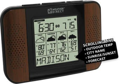 La Crosse WA-1240U-WA Talking Wireless Forecaster