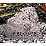Welcome Pineapple Garden Accent Stone