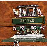 Whitehall Gift Box Caboose Stocking Holder