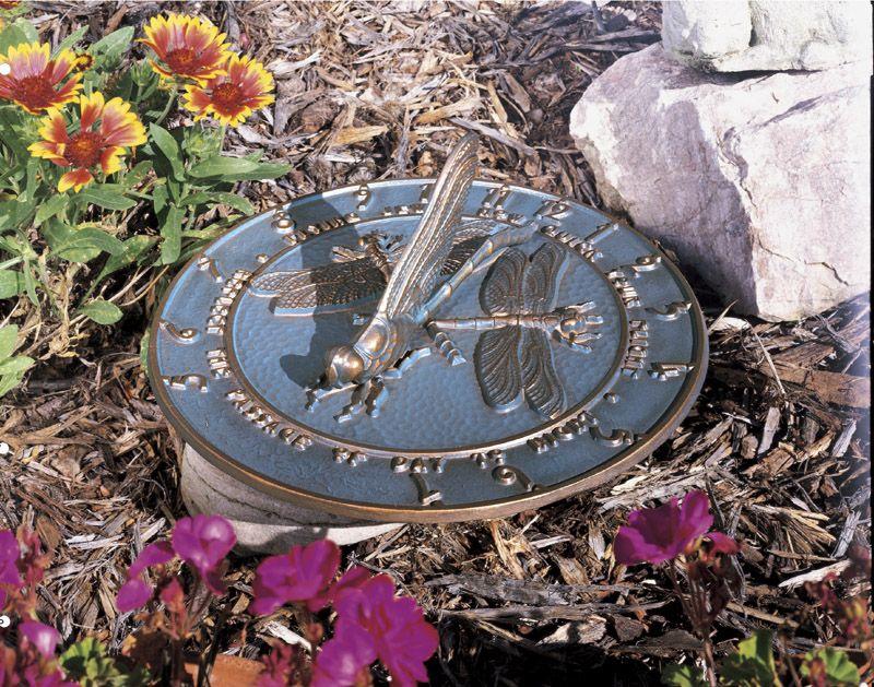 Whitehall Dragonfly Sundial French Bronze