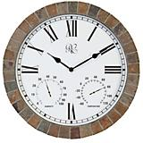 River City 1012-15 Indoor/Outdoor Tile Clock