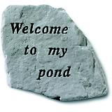 Kay Berry Welcome To My Pond Accent Rock