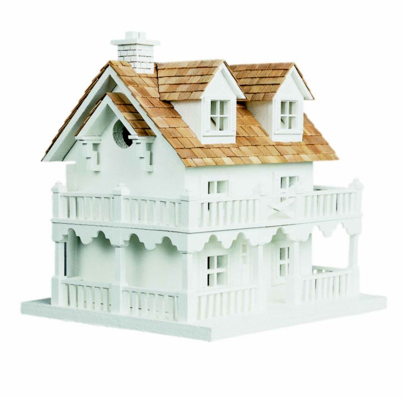 Cape Cod Cottage Architectural Bird House