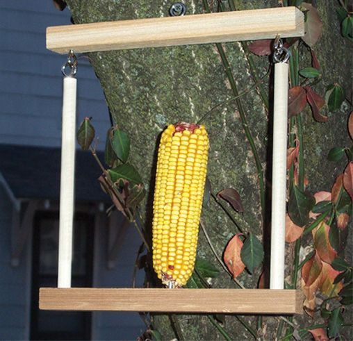 Flying Trapeze Squirrel Feeder