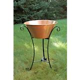 Large Copper Beverage Stand
