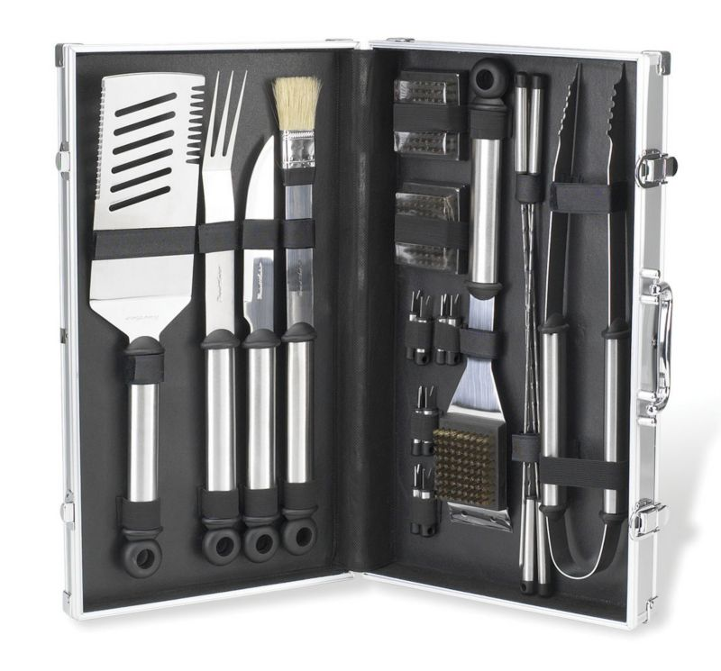 Stainless Steel Master Grill 20pc Set