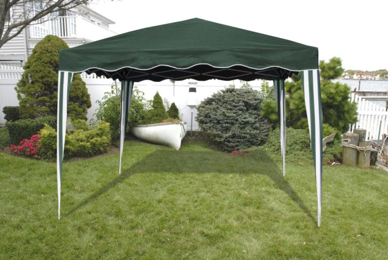 EZ Up Gazebo 10x10 Green