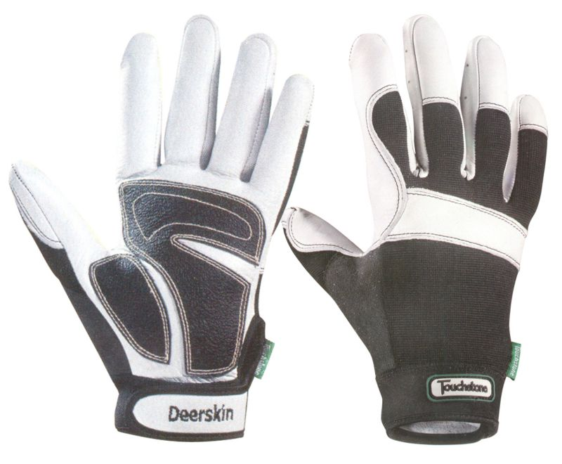 Deer Skin Form Fitting Work Glove Medium
