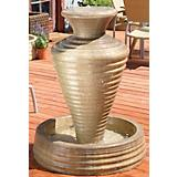 Olive Jar Fountain-45in x 35in x 35in