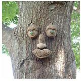 Genuine Tree Peeple WoodChuck Tree Face