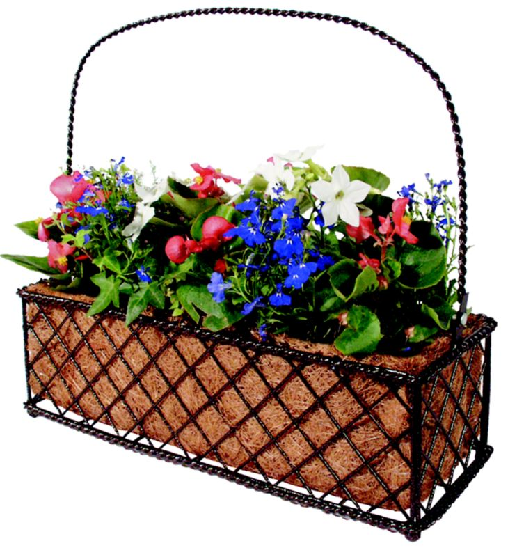 Bronze Petite Rectangle Planter