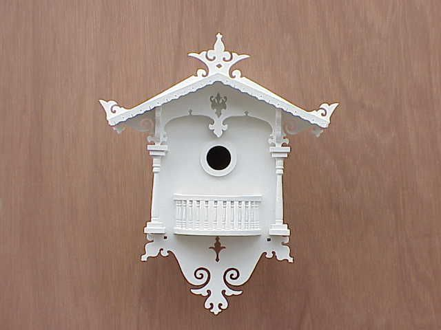 Cuckoo Cottage Architectural Bird House (HOME BAZAAR INC HB-2018N 812673010183 Wild Bird Supplies Bird Houses) photo
