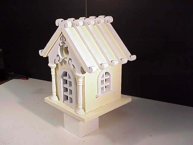 Fairy Cottage Architectural Bird House