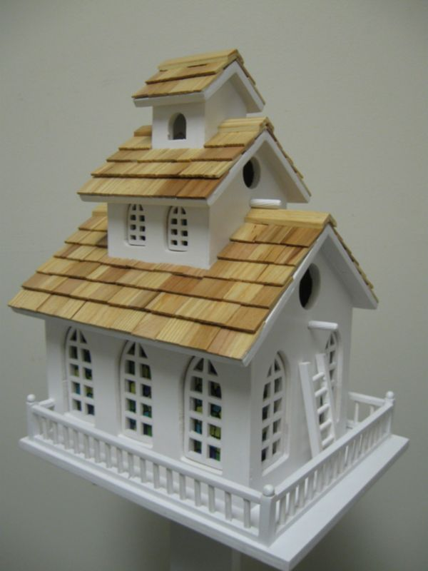 Chapel Bell Birdhouse (HOME BAZAAR INC HB-2047 812673010398 Wild Bird Supplies Bird Houses) photo