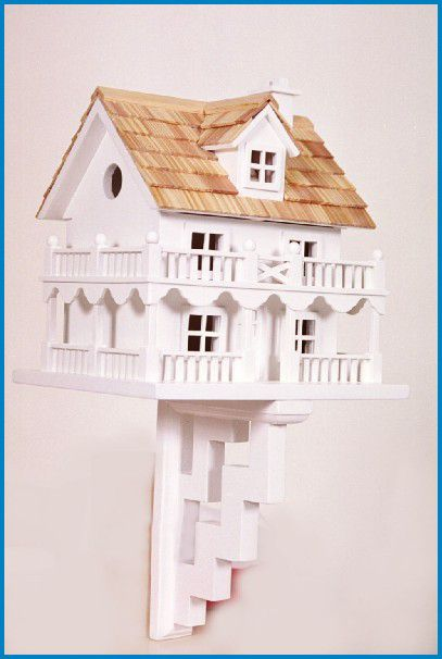 Novelty Architectural Bird House (HOME BAZAAR INC HB-6102 812673010534 Wild Bird Supplies Bird Houses) photo