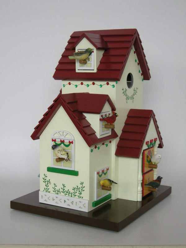 Advent Calendar Birdhouse