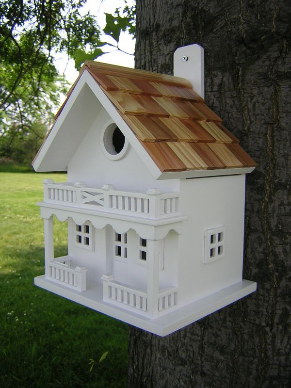 Chalet Birdhouse (HOME BAZAAR INC HB-9002WS 812673010626 Wild Bird Supplies Bird Houses) photo