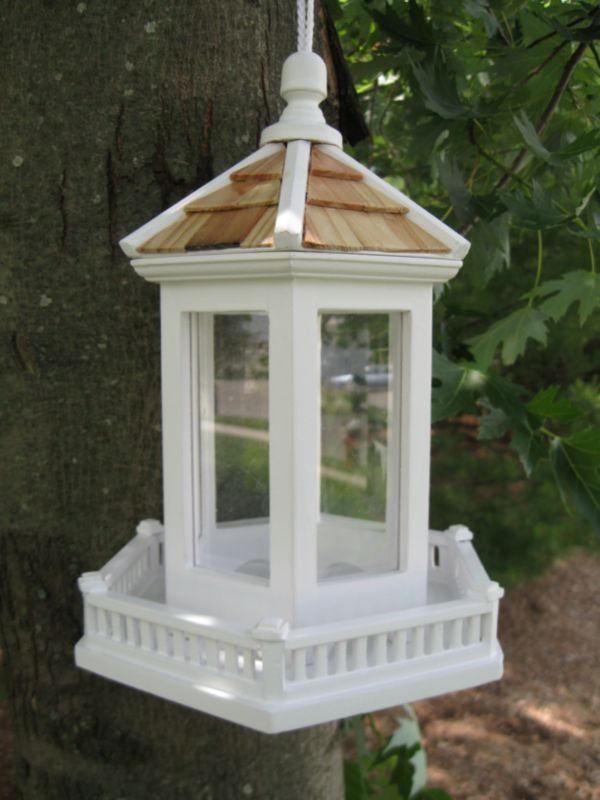 Perky Pets Gazebo Feeder (HOME BAZAAR INC HB-9006WS 812673010688 Wild Bird Supplies Bird Feeders) photo