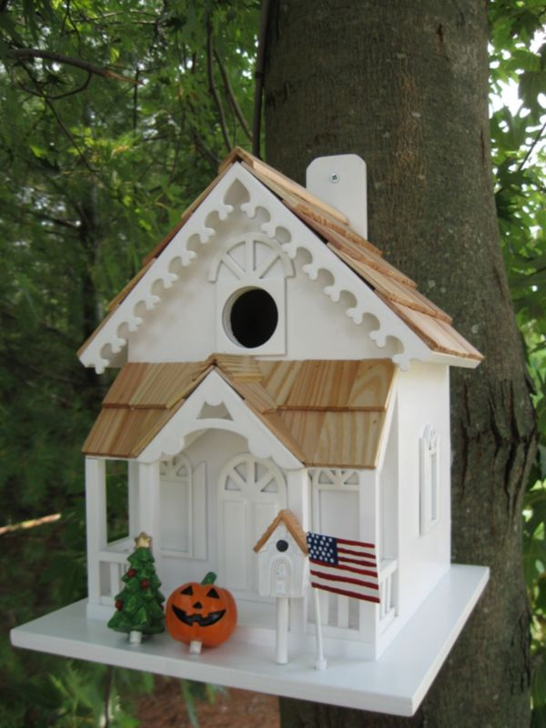 Seasons Tweetings Birdhouse (HOME BAZAAR INC HB-9036S 812673010978 Wild Bird Supplies Bird Houses) photo