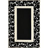 Duracord Black Penelope Outdoor Rug-8 x 10