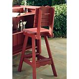 Outdoor Bar Stool with Back