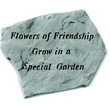 Flowers of Friendship Accent Rock