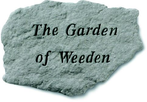 Garden Of  Weeden Accent Rock
