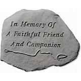 In Memory Of A Faithful Accent Stone