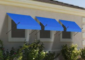 IDM Worldwide Designer Awning 8ft Pacific Blue