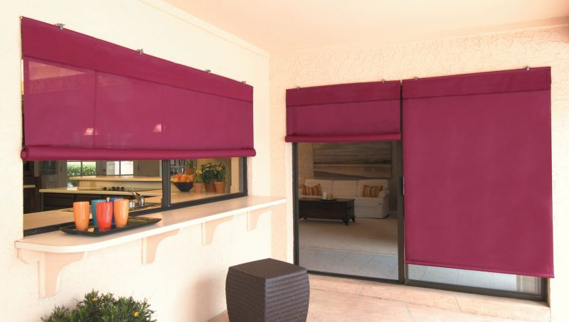 Sun Shade 8ft Burgundy