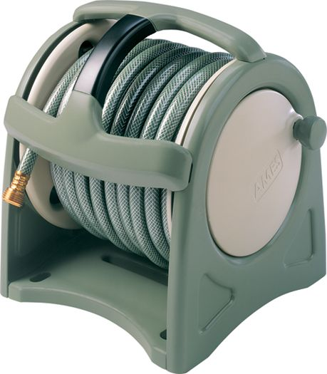 Ames Canister Hose Reel And Hose