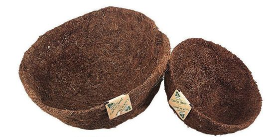 Basket Shaped Cocoa Liner 14 Inch