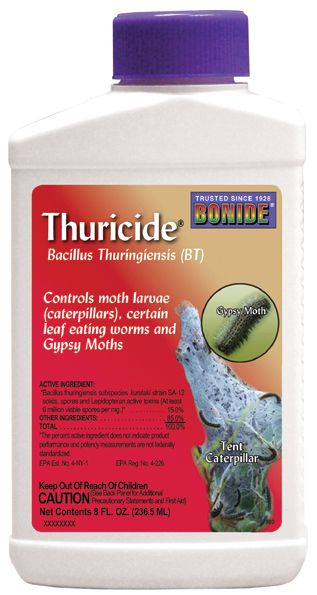 Bonide Bt Thuricide 8 Oz.